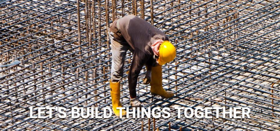 Let's build things together